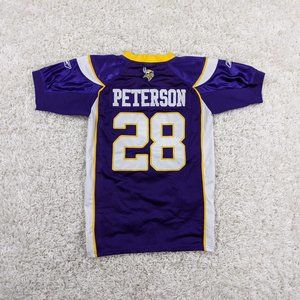 Reebok Adrian Peterson Jersey Kids Large Youth A19